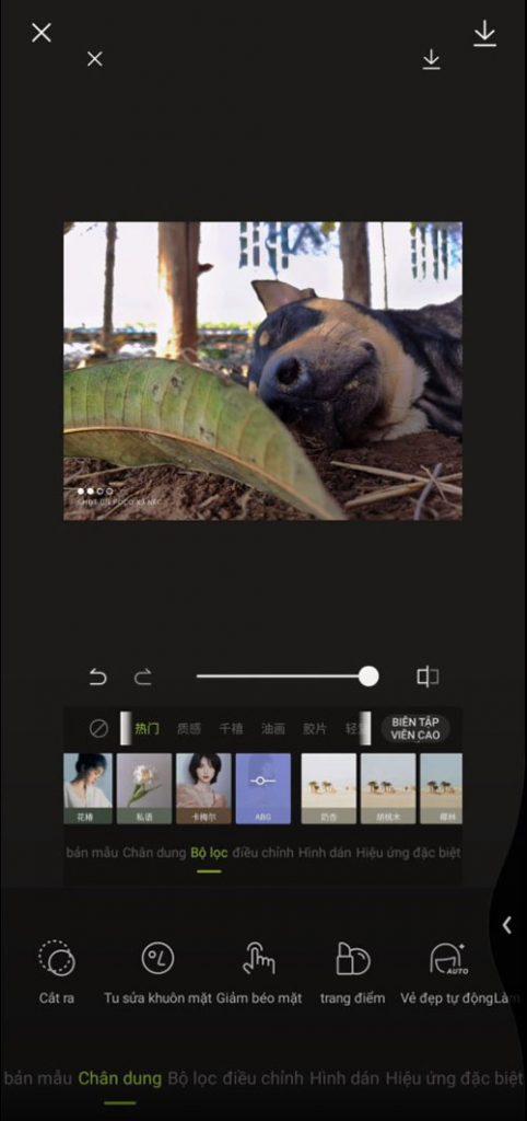 Giao diện app Xingtu Việt Hóa