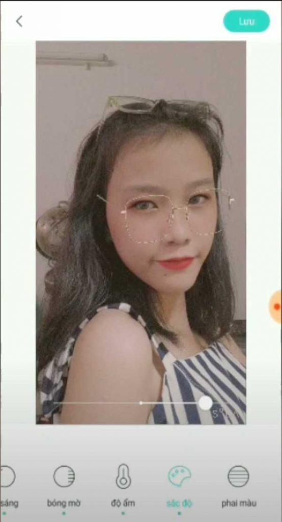 Chỉnh sửa ảnh khuôn mặt bằng app FaceU