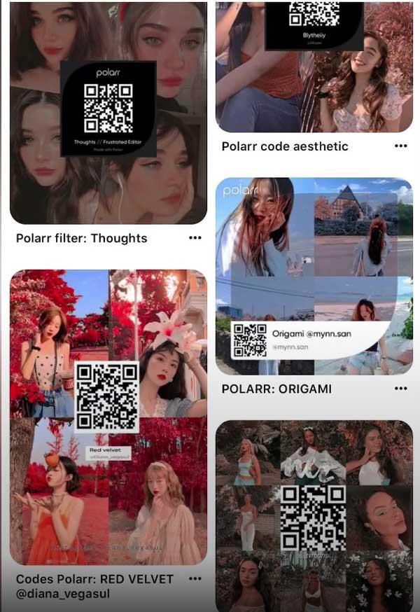 Code QR Polarr
